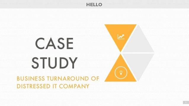 a case analysis of the turnaround Course title: strategic management mbl 915 - p (a case study: gordon  bethune and the turnaround of continental airlines) code: mbl 915 -p group .