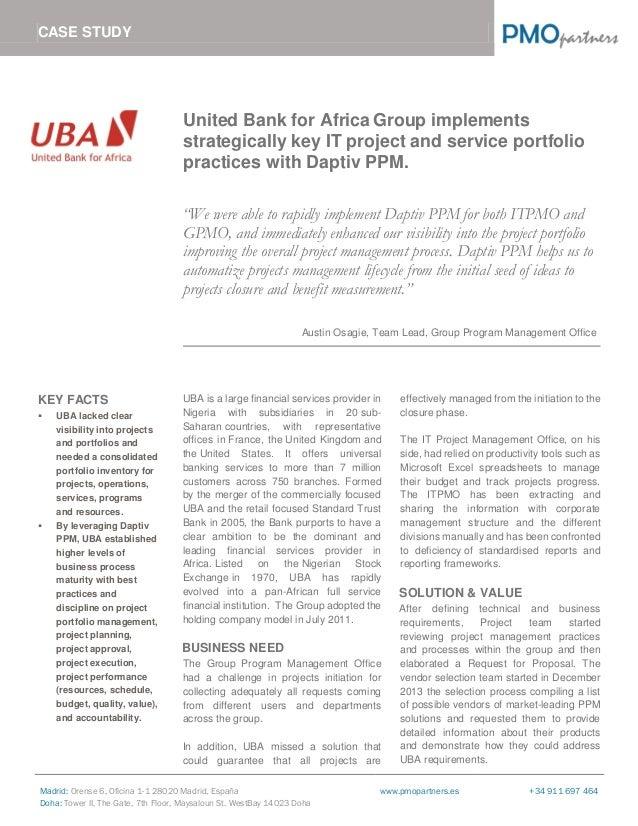 case study on project management implementation