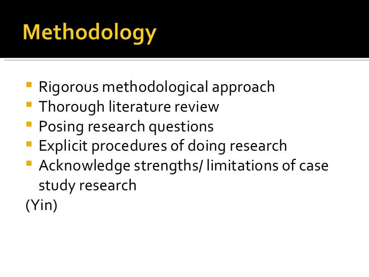 Case study Research SlidePlayer