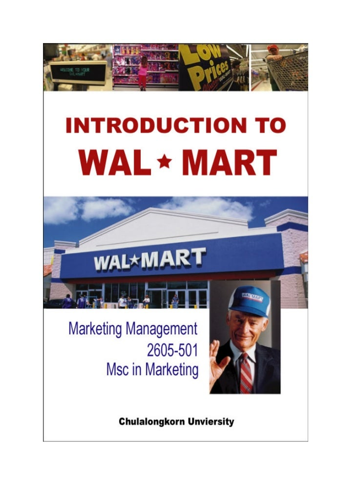international supply chain wal mart case study We will write a custom essay sample on wal-mart seafood supply chain case study specifically for you  world wildlife fund (wwf) and conservation international (ci.
