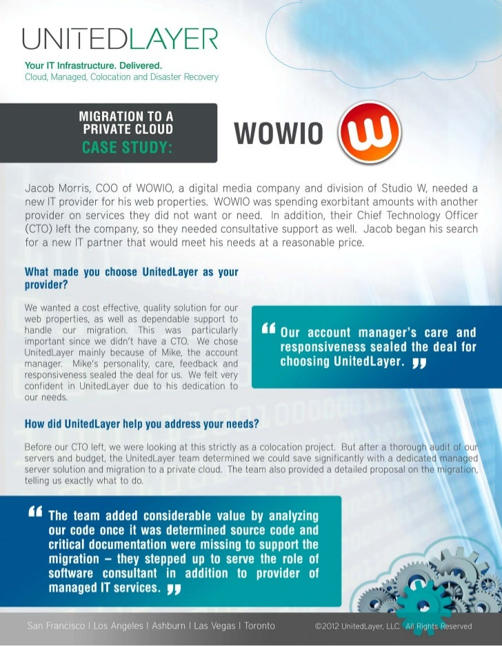 UNI-1 EDLAYERYour IT Infrastructure. Delivered.Cloud, Managed, Co location and Disaster Recovery                          ...