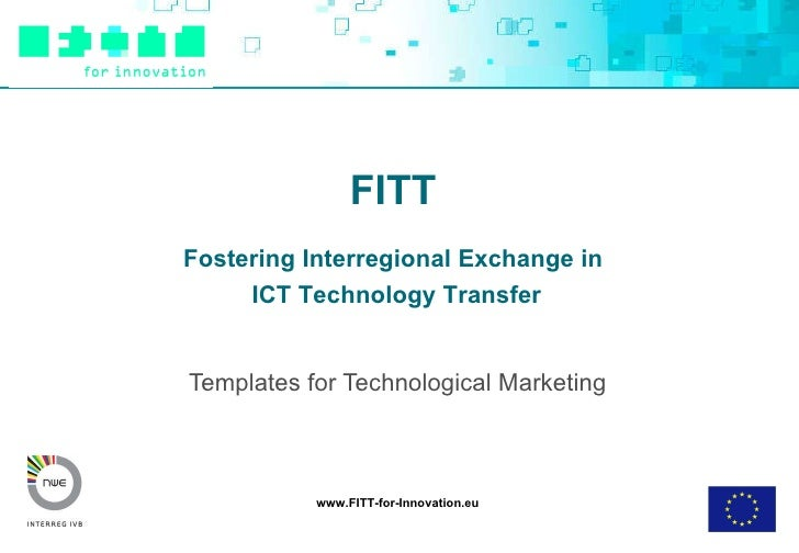 Templates for Technological Marketing