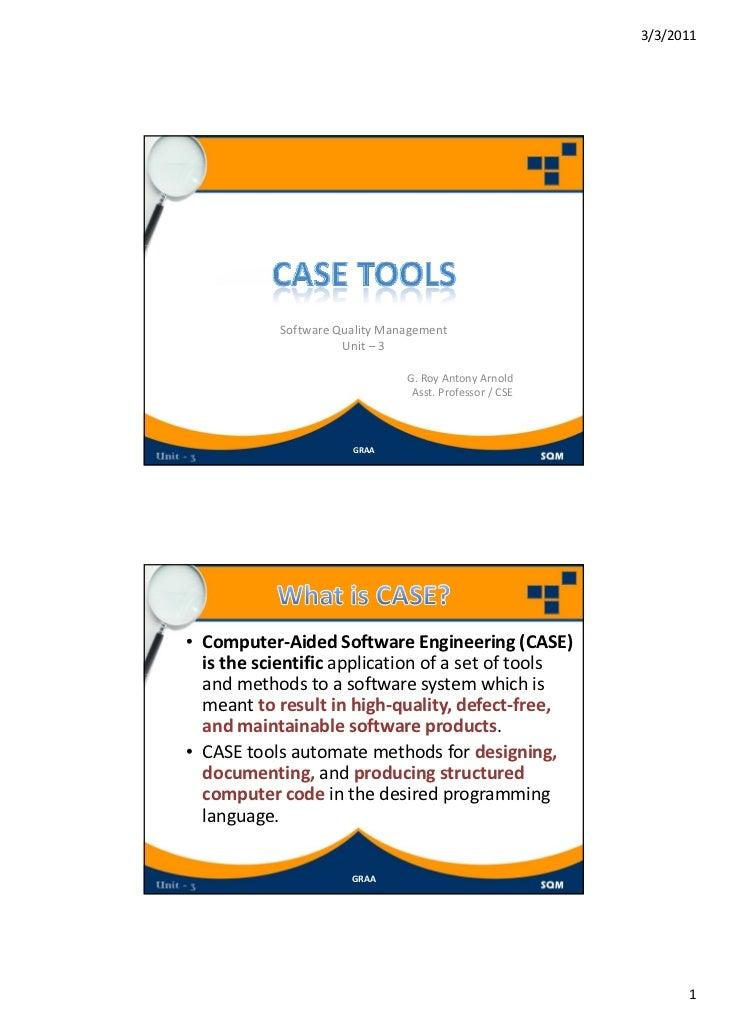 3/3/2011            SoftwareQualityManagement                      Unit– 3                                G.RoyAntony...
