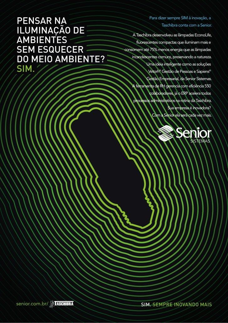 Case RH e ERP Taschibra - Vetorh® Sapiens® Senior