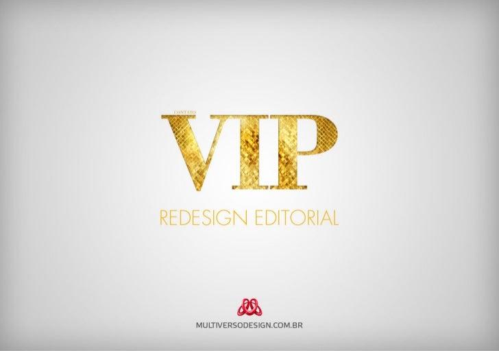 Redesign da Contato VIP