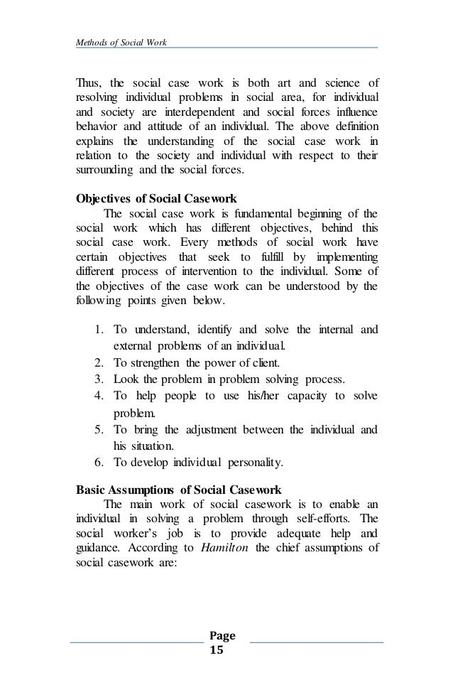 writing skill for social work reports