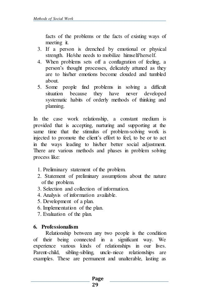 Misapprehension About The 29 Methods Of Social Work