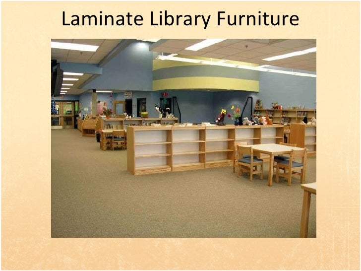 Custom Millwork; 28. Laminate Library Furniture ...