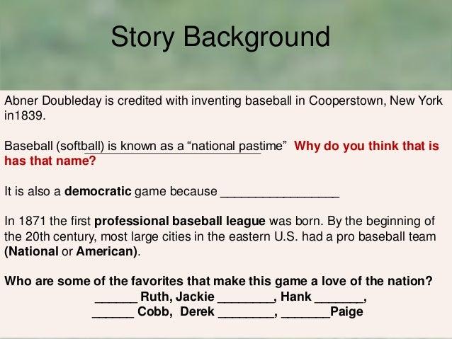 Casey at the bat writing activity 2nd