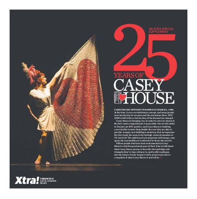 An xtra special                                                    Supplement                years of                Casey...