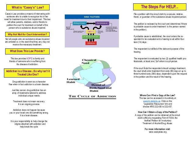 Caseys Law Brochure