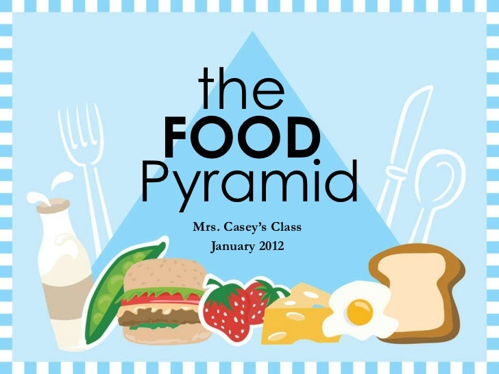the  Mrs. Casey's Class January 2012 FOOD   Pyramid
