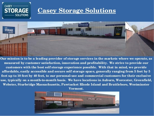 Merveilleux Casey Storage Solutions Our Mission Is To Be A Leading Provider Of Storage  Services In The ...