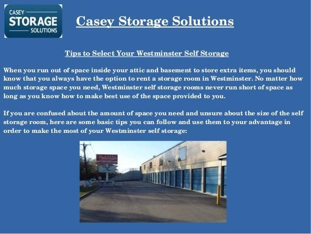 Casey Storage ...