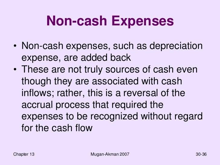 non cash expenses