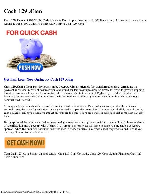 Cash loan dbs photo 1