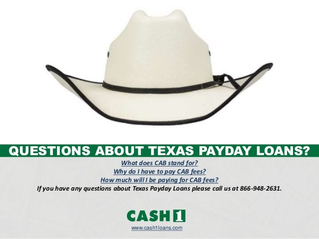 What does CAB stand for? Why do I have to pay CAB fees? How much will I be paying for CAB fees? If you have any questions ...