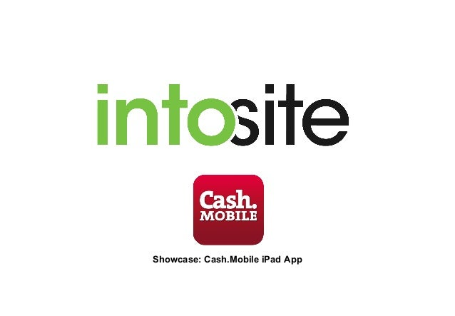 Showcase: Cash.Mobile iPad App