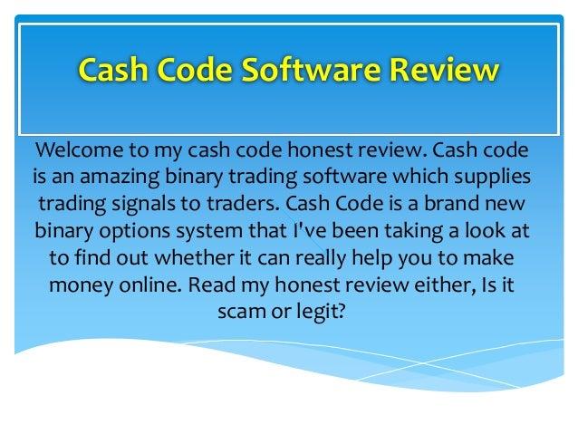 Binary cash code