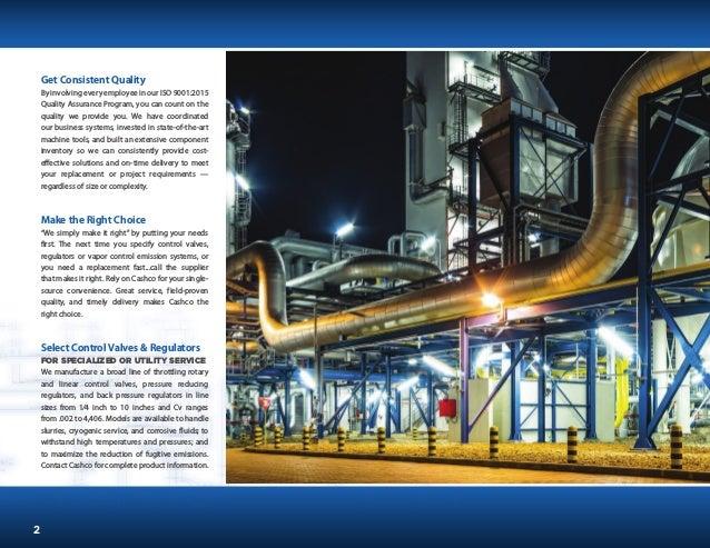 Cashco - Reguladores Industriais