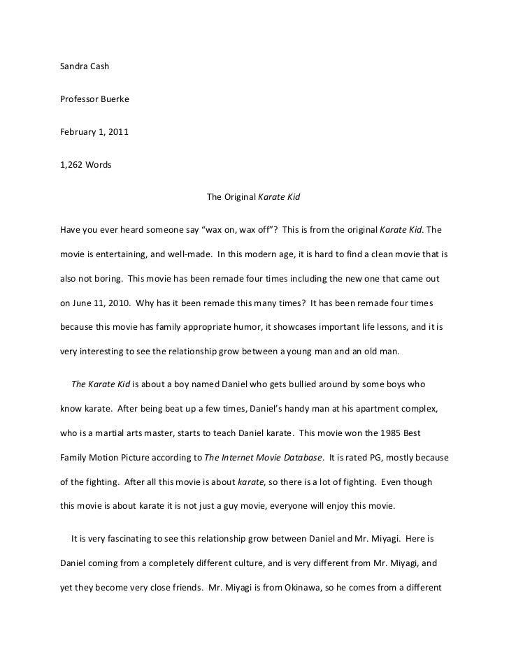 evaluation essay assignment