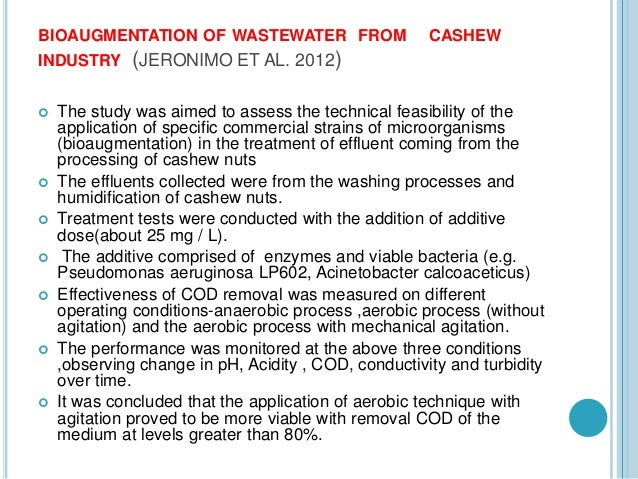 Cashew nut processing industry waste water treatment treatment alternatives the fungi publicscrutiny Image collections