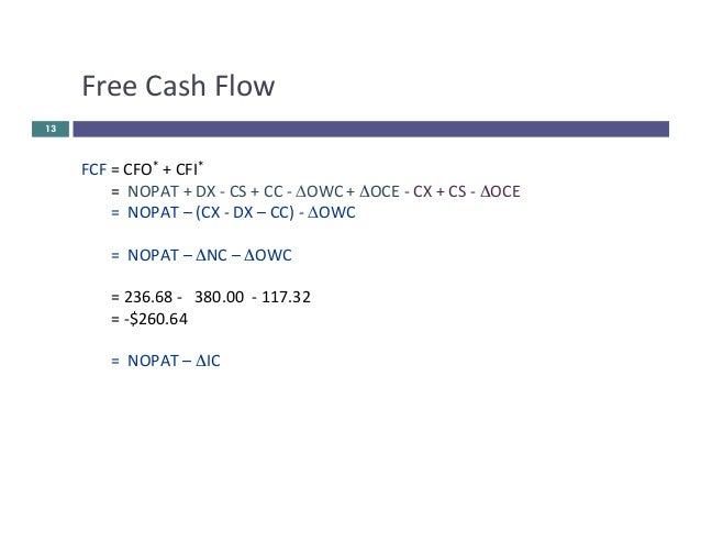 cash flow and cost of capital pdf. Black Bedroom Furniture Sets. Home Design Ideas