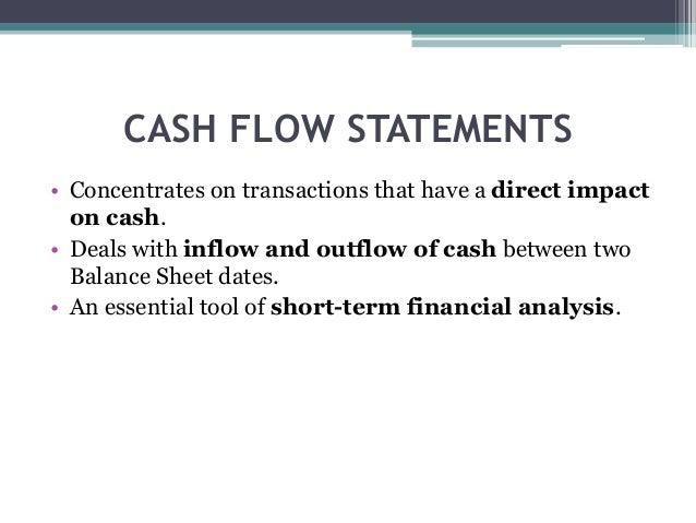 personal cash flow analysis