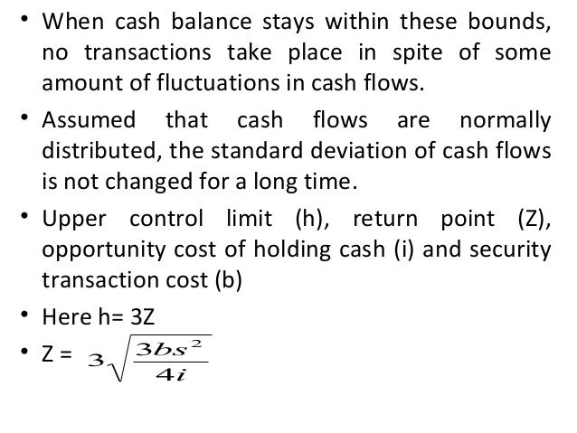 Uncertainty Model- Stone Model • Applicable when management's estimation of future cash flow is required • There is inner ...