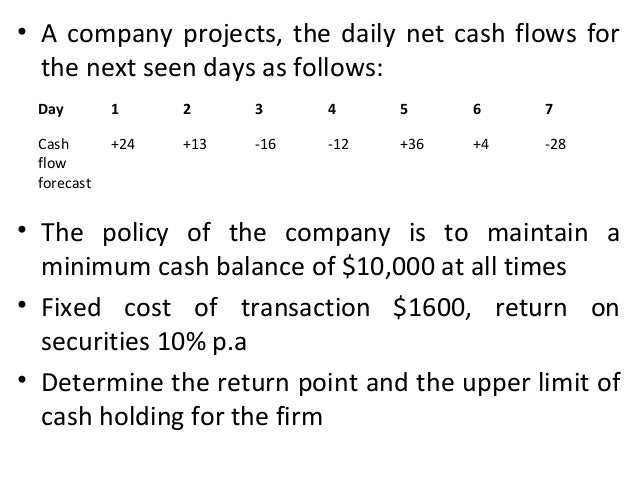 • If the sum of the current balance and these expected future cash flows falls outside the inner control limits, a transac...