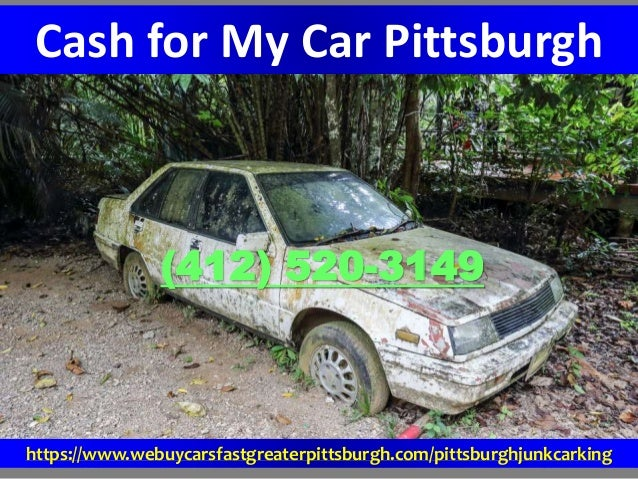 Cash for My Car Pittsburgh (412) 520-3149