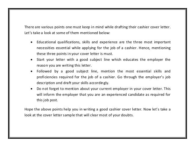 cashier-cover-letter-sample-pdf-3-638 Job Application Letter Cashier Position on intent apply for internal, reference for, interest for new, intent internal,