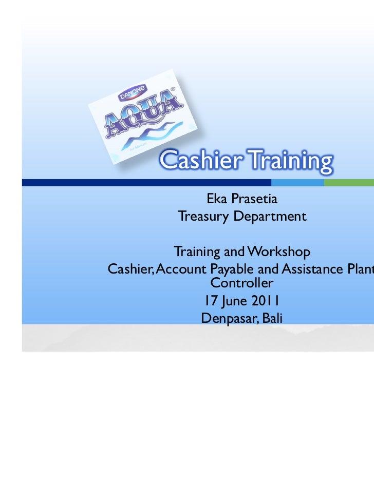 cashier training manual essay Cashier training handbook delaware wic program special supplemental nutrition program for women, infants & children (wic) january 2016 - december 2018.