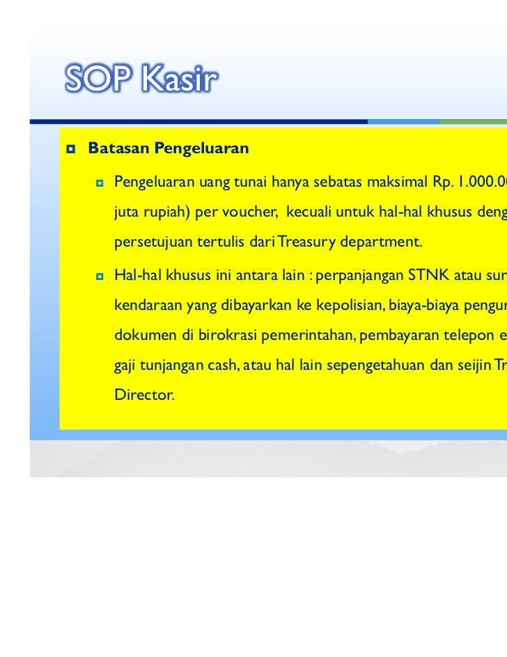 Cashier Training Material Pc 17 June 2011