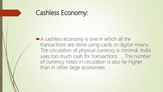 advantages of cashless society