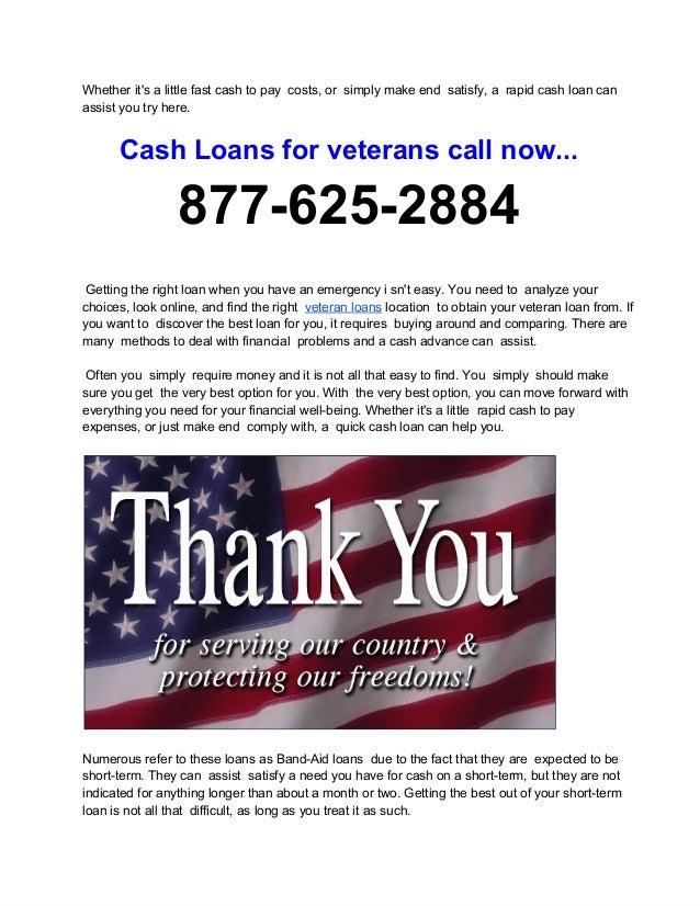 Installment Loans For Disabled Veterans