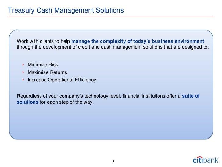 Cash Management - Fasold