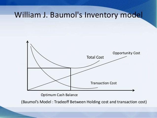 Baumol–Tobin model