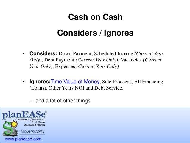 Cash on Cash Return for Commercial Investment Real Estate