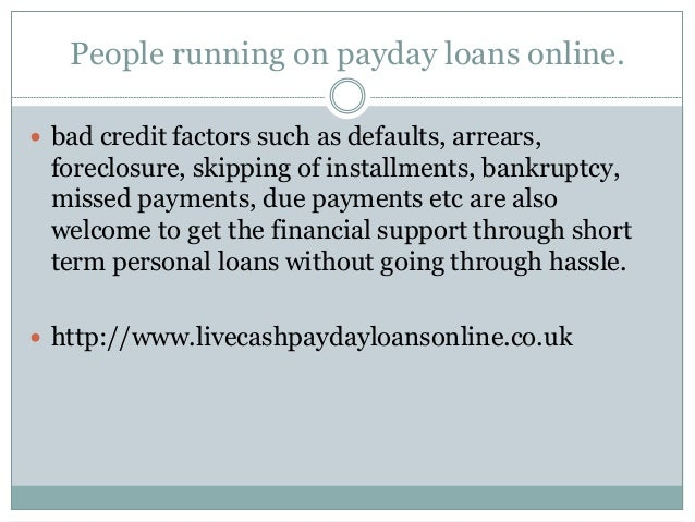 Default payday loans photo 1