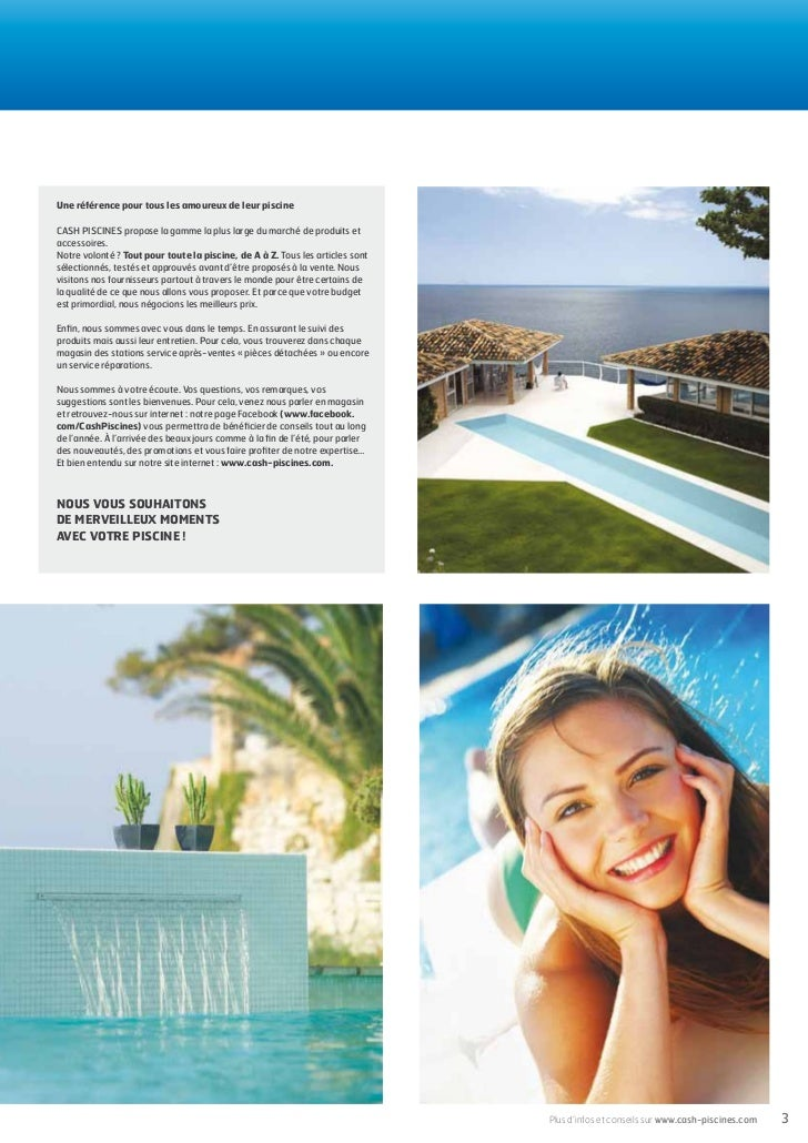 Cash piscines catalogue 2012 choisir sa piscine for Cash piscine toulouse