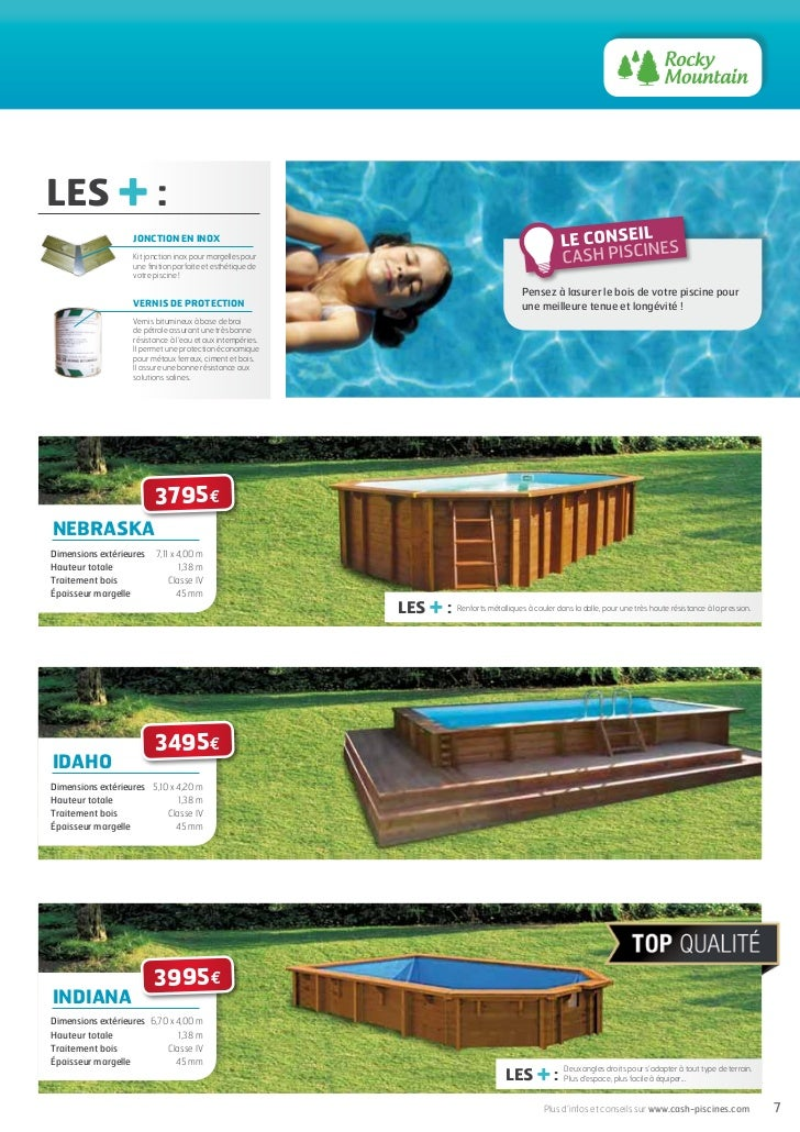 Cash piscines catalogue 2012 choisir sa piscine for Cash piscine kit