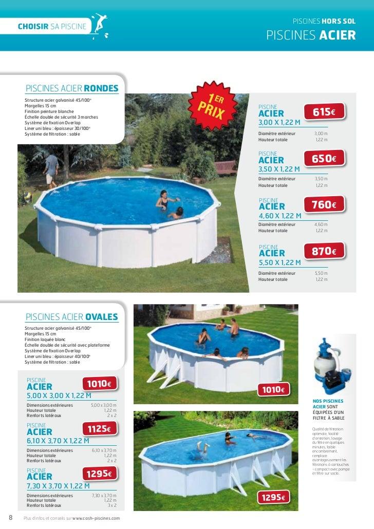 piscine hors sol cash piscine. Black Bedroom Furniture Sets. Home Design Ideas