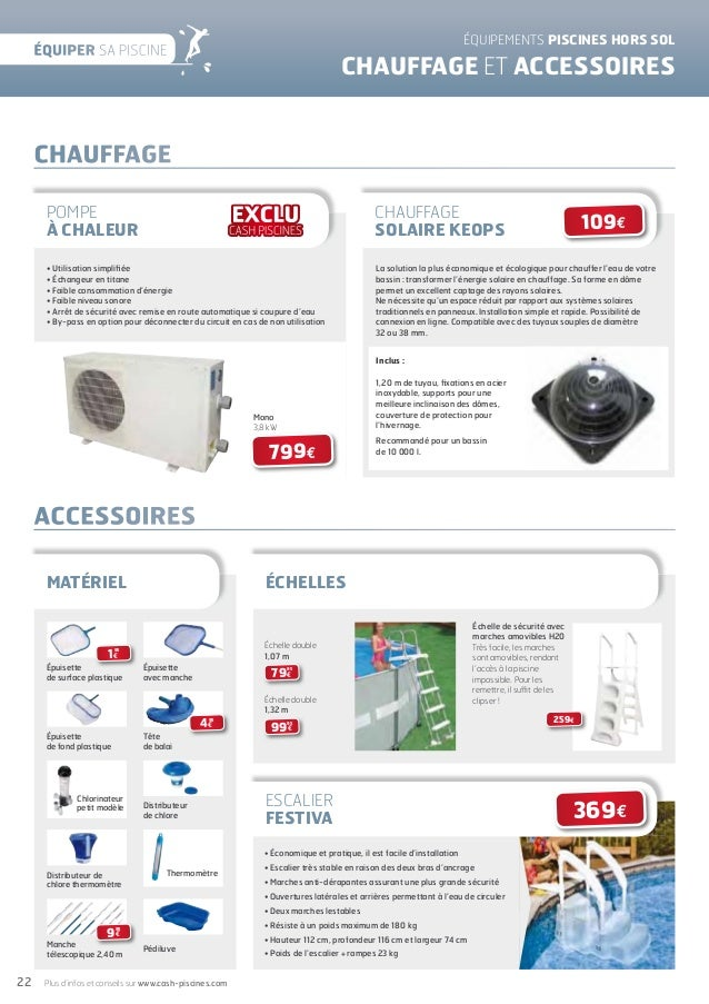 Cashpiscinescatalogue2012equipersapiscine 120413094753 for Chauffage piscine keops