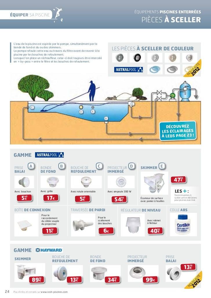 Cash piscines catalogue 2012 equiper sa piscine for Cash piscine nebraska