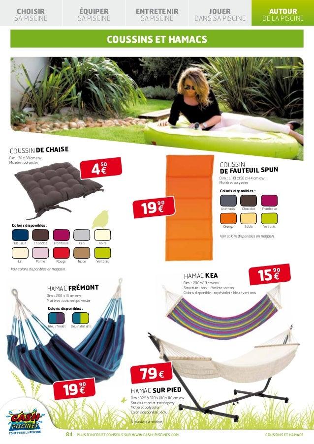 Cash piscines catalogue 2013 autour de sa piscine for Cash piscine 37