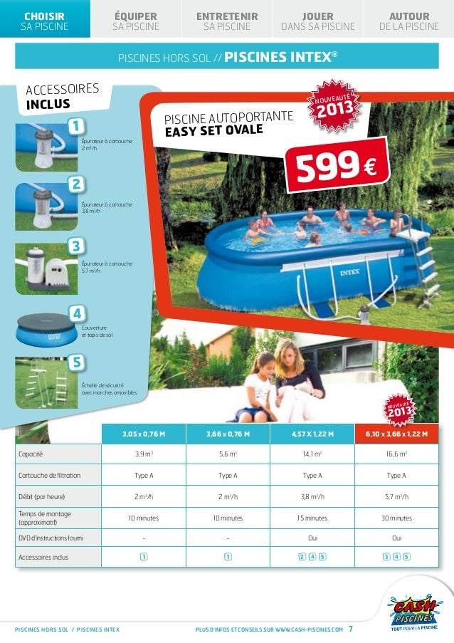 Cash piscines catalogue 2013 choisir sa piscine for Cash piscine catalogue