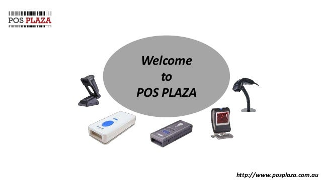 Cash Register With Barcode Scanner system at POS Plaza