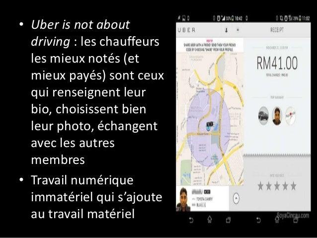 • Uber is not about driving : les chauffeurs les mieux notés (et mieux payés) sont ceux qui renseignent leur bio, choisiss...