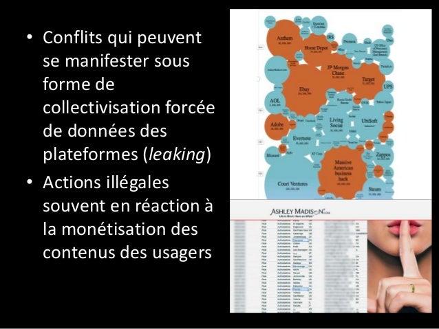 • Luttes centrées sur les conditions de travail des plateformes numériques collaboratives et de micro- travail (ex: Homejo...